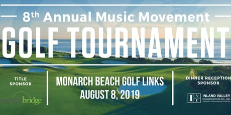 8th Annual Music Movement Charity Golf Tournament tickets