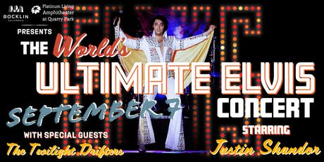 The World's Ultimate Elvis Concert tickets