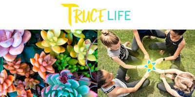 Tween Yoga + DIY Succulents Bar = Summer Fun