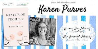 Karen Purves - Author Talk & Book Launch - Maryborough Library