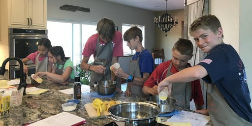 Kids Cooking and Baking Camp - Ages 11-15