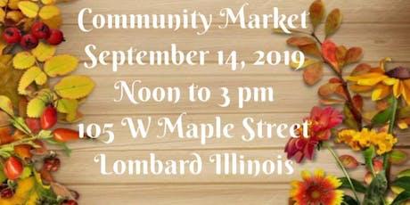 September Community Market tickets