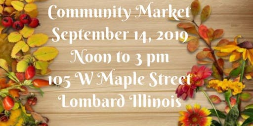 September Community Market