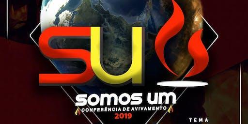 CONFERÊNCIA DE AVIVAMENTO SOMOS UM 2019 - SEM LIMITES