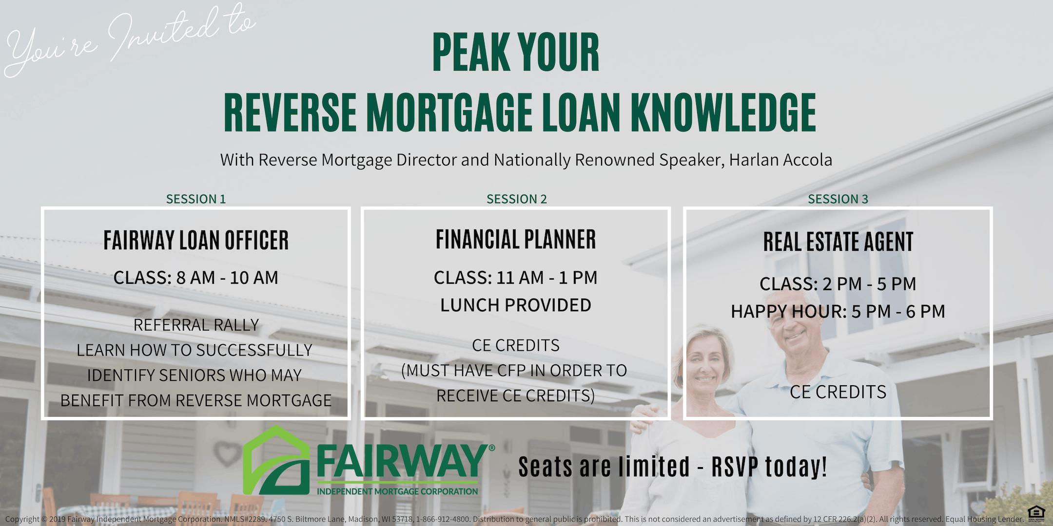 Peak Your Reverse Mortgage Loan Knowledge
