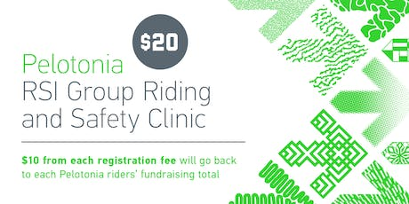 Pelotonia RSI Group Riding and Safety Clinic tickets