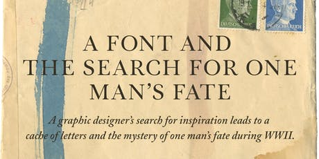 A Font and the Search for One Man's Fate with Carolyn Porter tickets