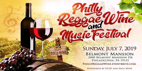 Philly Reggae Wine Vendor Sign-up tickets
