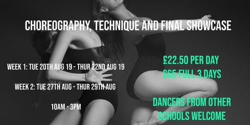 Dancers Intensive Summer Workshop