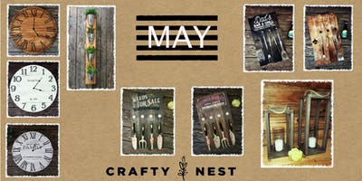 May 23rd at The Crafty Nest (Whitinsville)