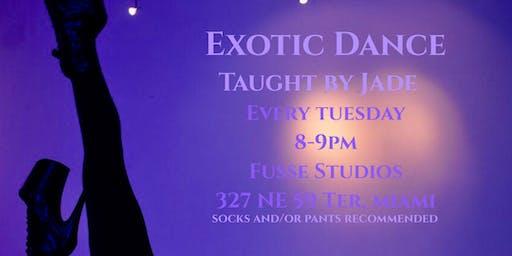 Exotic Dance Class w/ Jade