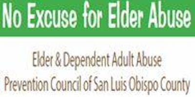 No Excuse for Elder Abuse Conference - 2019