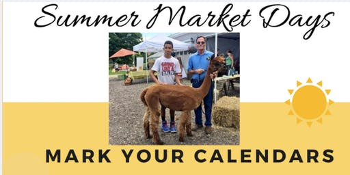 Summer Market Days