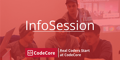 CodeCore Bootcamp InfoSession tickets