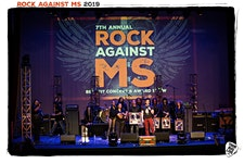 THE ROCK AGAINST MS FOUNDATION logo