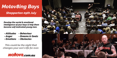 Motov8ing Boys - Shepparton July 9th tickets