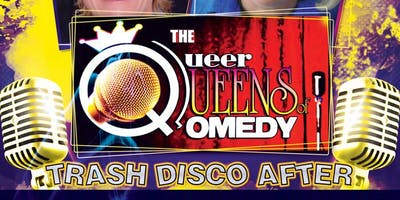 QUEER QUEENS OF COMEDY SHOW, VIP MEET & GREET & SPAGHETTI LUNCH!