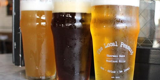 Happy Hour at The Local Peasant Sherman Oaks - Mon-Fri Only!
