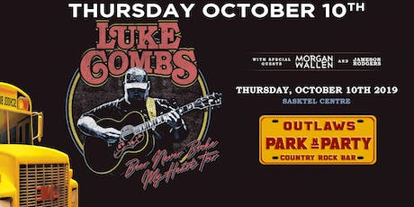 Outlaws Park & Party Luke Combs with Morgan Wallen & James Rodgers tickets