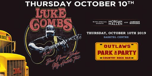 Outlaws Park & Party Luke Combs with Morgan Wallen & James Rodgers