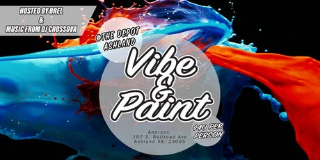 Couples and Singles Vibe & Paint Night tickets