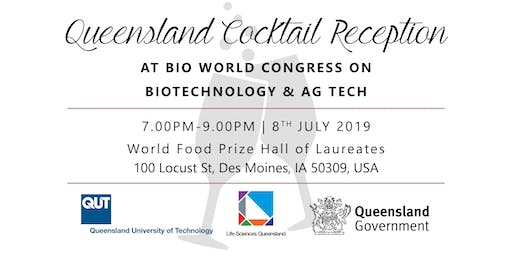 Queensland Cocktail Reception at BIO WCIB 2019