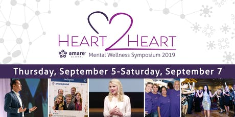 Amare Global HEART2HEART Mental Wellness Symposium 2019 tickets