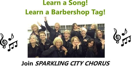 Women, are you looking for a way to share singing talent? Learn 4 part harmony! tickets