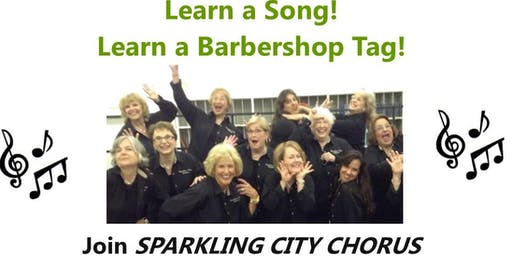 Women, are you looking for a way to share singing talent? Learn 4 part harmony!