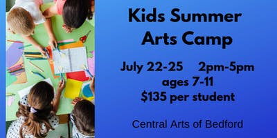 Kids Summer Arts Camp