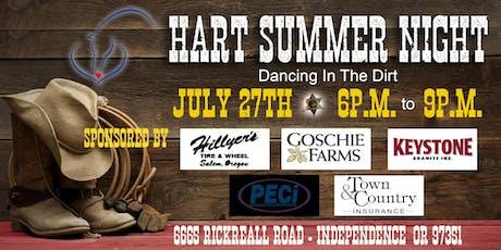 HART Summer Night tickets
