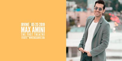 Max Amini Live in Irvine - Authentically Absurd Tour