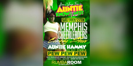 Auntie Hammy Memphis Comedy Show tickets