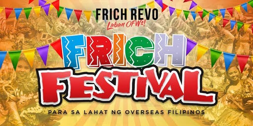 FRICH FESTIVAL for OFWs - MILAN 2019