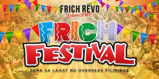FRICH FESTIVAL for OFWs - ROME 2019
