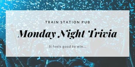Train Station Trivia Mondays! tickets