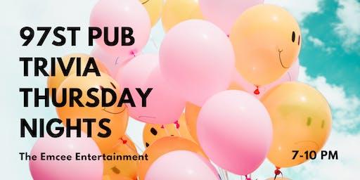 97st Pub Thursday Night Trivia