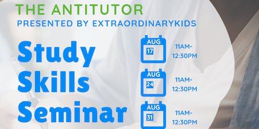 Study Skills Seminar - AUGUST