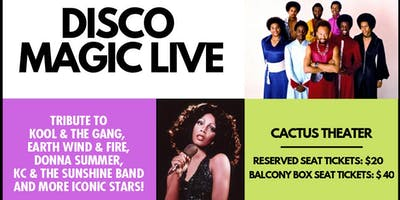 Disco Magic Live - Tribute to Kool & The Gang, Donna Summer, KC and more!