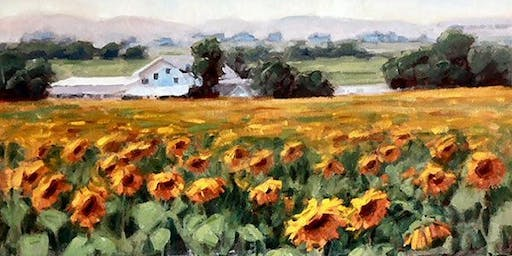 Painting in Oils and Acrylics: 4 pack-Wednesdays 12:30-3pm