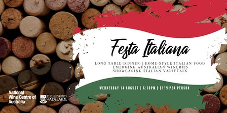Festa Italiana Wine Experience  tickets