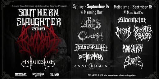 Southern Slaughter 2019 - BLOODBATH VIP UPGRADE (Melbourne)