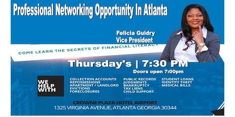 Networking Opportunity In Atlanta-Felicia tickets