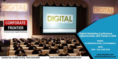 Digital Marketing Conference: Opportunities and Trends in 2019 tickets
