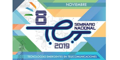 Octavo Seminario en Tecnologías Emergentes en Telecomunicaciones