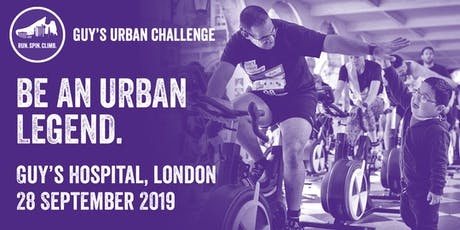 Guy's Urban Challenge 2019  tickets