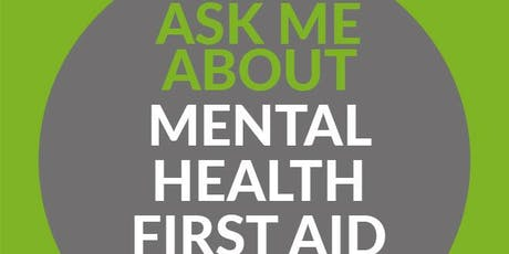 Mental Health First Aid - Youth (2 Day) - Kendal, Cumbria  tickets