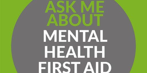 Mental Health First Aid - Youth (2 Day) - Kendal, Cumbria