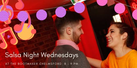 Free Salsa Classes at The Bootmaker - Chelmsford tickets