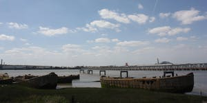 Through the Marshes - Along the Thames from Rainham to...